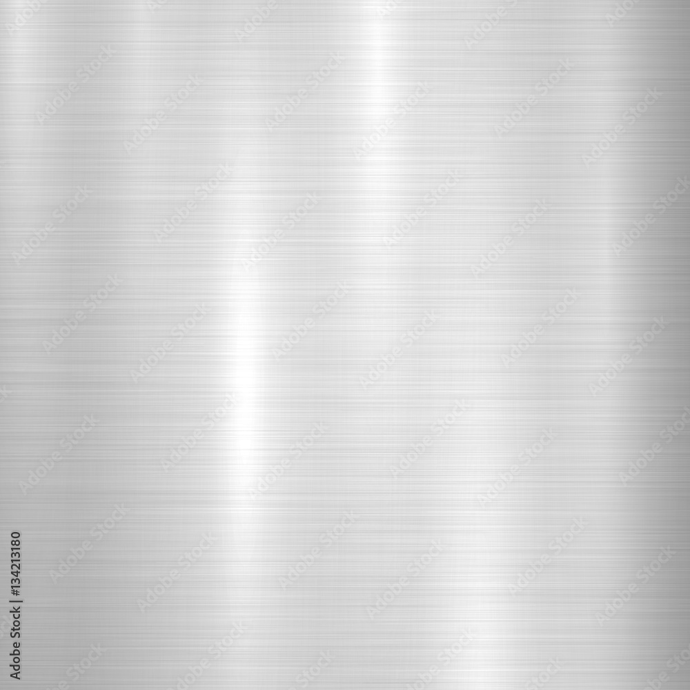 Fotografie Obraz Metal Abstract Technology Background With Polished Brushed Texture Chrome Silver Steel Aluminum For Design Concepts Web Prints