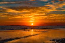 Sunset At Folly Beach