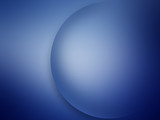 Blue Circle on Blue Background