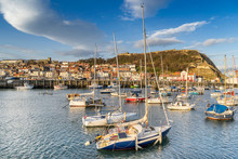 The Harbour In Scarborough Yorkshire