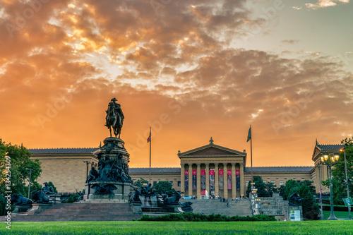 Fotografía Museum of Art in Philadelphia, USA
