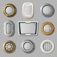 Portholes Of Various Shape Rea...