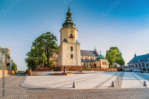 Cathedral Basilica and Bishop's Palace in Kielce