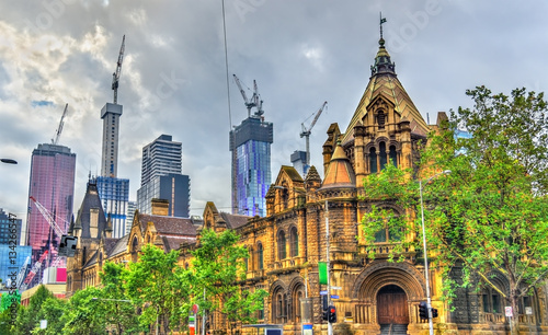 Fotografija  The Former Magistrates Court in Melbourne, Australia
