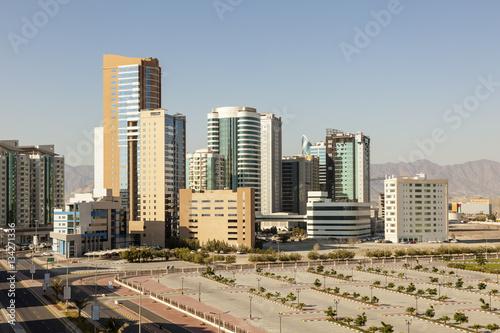 Fotobehang Midden Oosten City of Fujairah, UAE