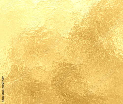 Fotografia  luxury gold background with marbled crinkled foil texture, old elegant yellow pa