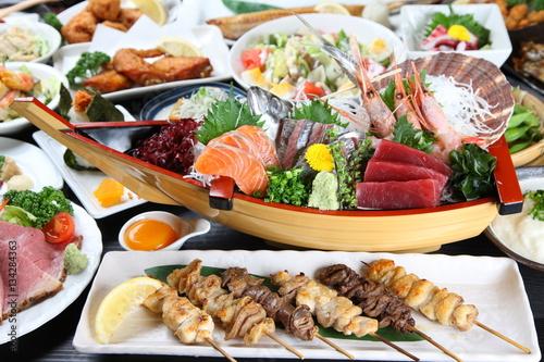 Deurstickers Klaar gerecht 日本料理