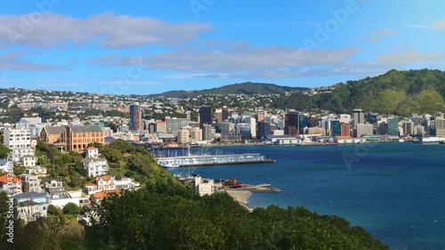 Panoramic view of Wellington, New Zealand
