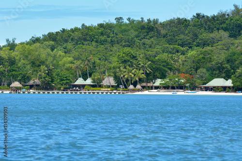 Spoed Foto op Canvas Eiland Nanuya Levu island in the Yasawa Group Fiji