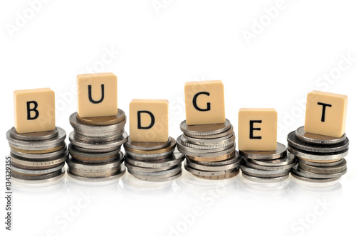 Fotografia, Obraz  Concept de budget