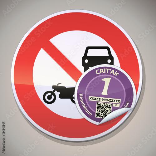 Circulation Restreinte Aux Vhicules Sans Vignette Critair 1