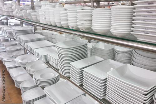 Fotografia  kitchen utensil shop