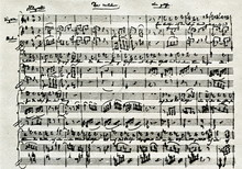 Beginning Of Mozart's Music Fo...