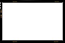Large Format Film Sheet Negative, 6 X 9 Centimeters, Photo Frame