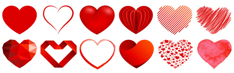 Herz Sammlung - heart collection
