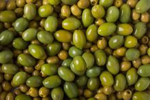 Background Of Olives. Backgrou...