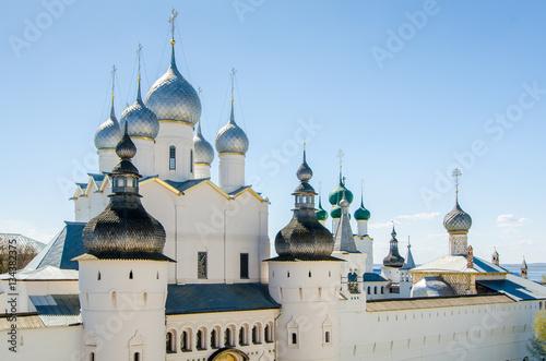 Assumption Cathedral in Kremlin of Rostov, Yaroslavl oblast, Russia Wallpaper Mural