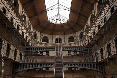 Zdjęcie XXL Kilmainham Gaol z Prison Cells w Dublinie, Irlandia