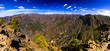 La Palma, Caldera de Taburiente, large Panorama