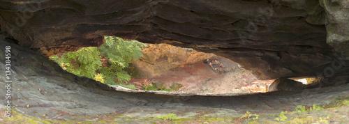 Photo  Hawkeye rock in Carpathians