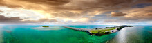 Aerial View Of Florida Keys Interstate