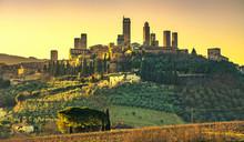 San Gimignano Medieval Town To...