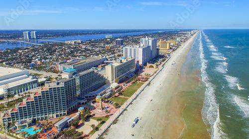 FORT WALTON, FL - FEBRUARY 2016: Aerial city view. Fort Walton i Canvas