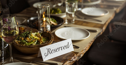 Fotografía  Restaurant Chilling Out Classy Lifestyle Reserved Concept