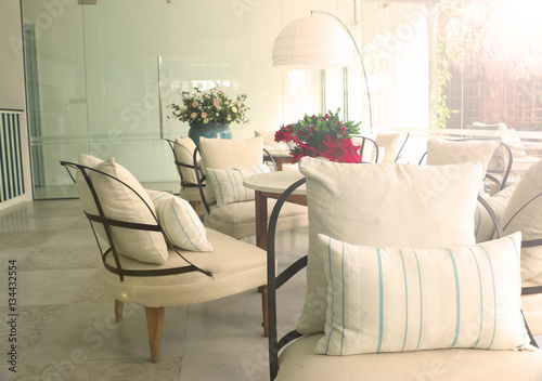 interior decoration design in holtel roo buy this stock photo and