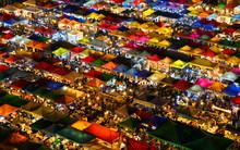 Ratchada Night Market In Bangkok