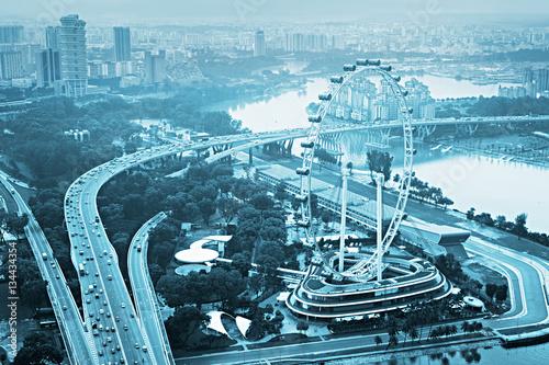 Photo  Singapore Ferris Wheel