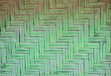 Texture Of Old Bamboo Mat