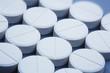 canvas print picture - Mehrere Tabletten, Nahaufnahme