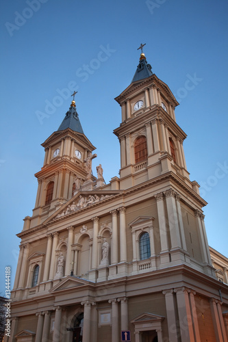 Cathedral of Holy Saviour in Ostrava. Czech Republic Poster