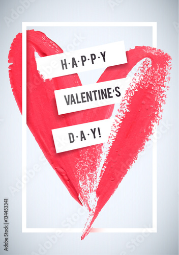 Carta da parati HAPPY VALENTINE'S DAY