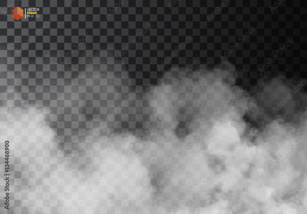 Fototapety, obrazy: Fog or smoke isolated transparent special effect.