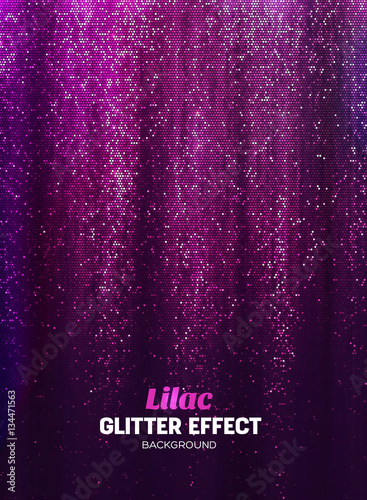 Fototapeta Magic Glitter Background in lilac Color