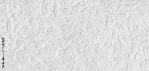 Creative white wavy texture. Canvas Print