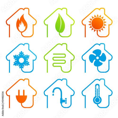 Fotografía  chauffage climatisation énergies