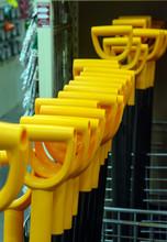 Orange Handles Shovels