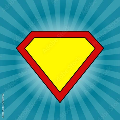 Fotografía  Keep calm Super man logo