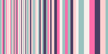 Geometric Backdrop. Abstract Vector Background With Colorful Stripes Different Width. Gradually Changing Stripes For Surface Patterns, Print, Web Design.