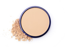 Beige Face Powder For Make Up