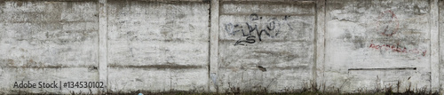 Aluminium Prints Graffiti concrete wall, fence, texture, big resolution