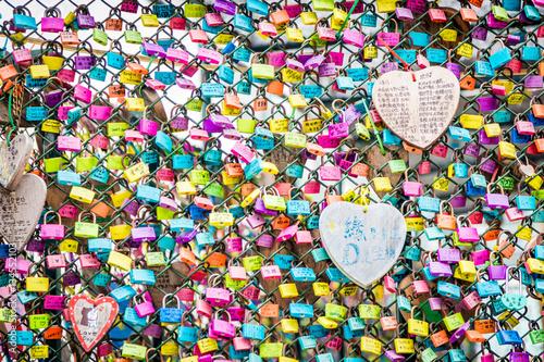 Photo  Love locks, Hong Kong