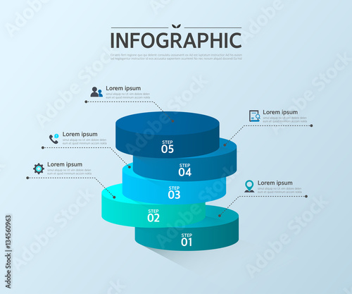 Fotografía Business Info graphic Design