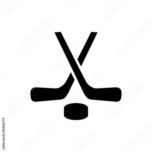 hockey icon illustration