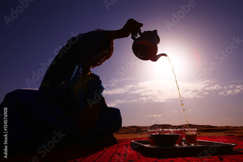 Deurstickers Marokko Sahara