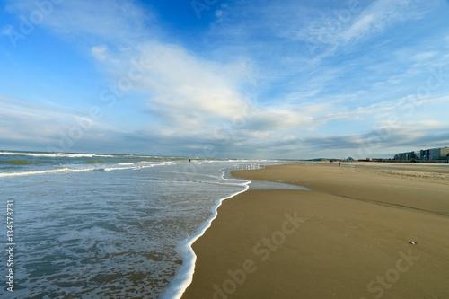 Photo BEACH OF THE TOUQUET, COTE D'OPALE, PAS DE CALAIS, HAUTS DE FRANCE , FRANCE