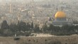 Dome of the Rock as viewed from the Mount of Olives, Jerusalem, Israel.